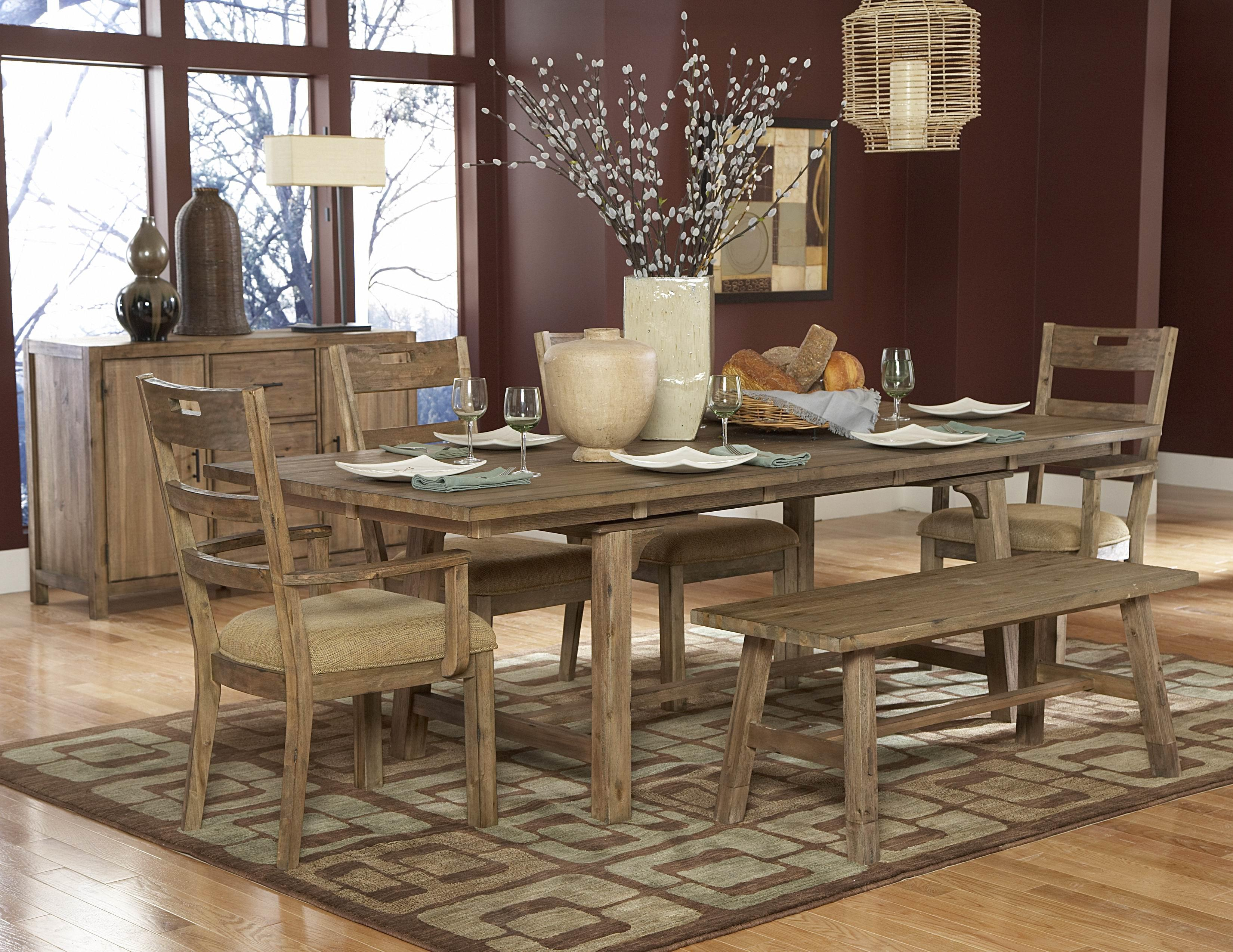 Rustic Dining Room Sets To Always Feel In Country Farmhouse Home Decor With Collection Of Interior Design