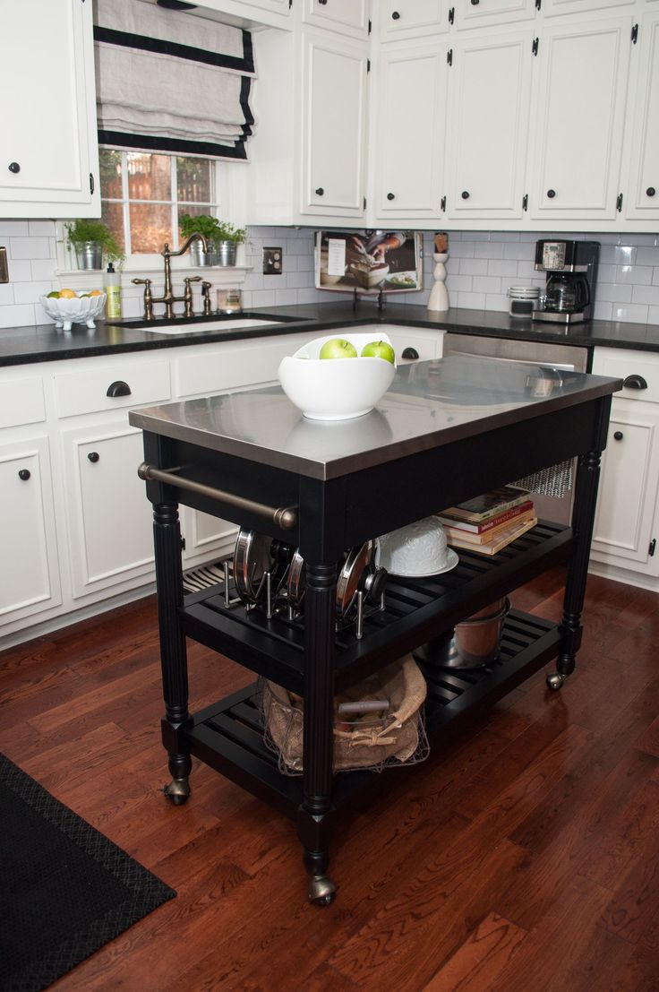 Portable Kitchen Island Design To Easily Move And Relocate Home Decor With Collection Of Interior